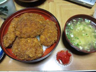 ヒレソースカツ丼