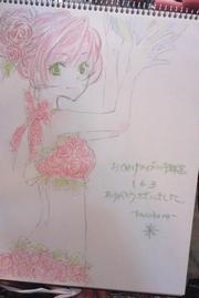 薔薇姫さまは水着もバラ柄…♪