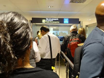 2013年5月23日バルセロナ・エルプラット国際空港