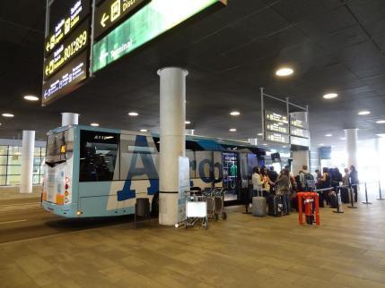 2013年5月23日バルセロナ空港バス