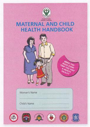 2013年8月12日インドネシアの母子手帳