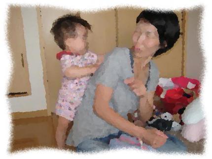 2012年9月25日Tさん親子