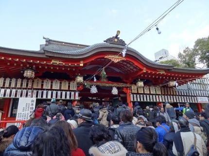 2014年1月6日生田神社