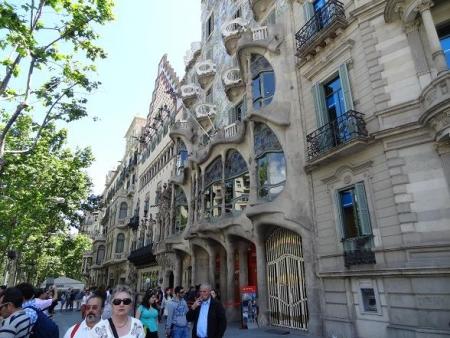 2013年5月バルセロナ街歩き①