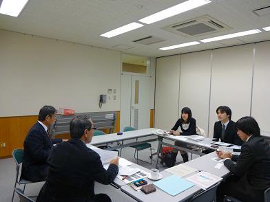 神戸市の若手グループの熱い思いに応えました。