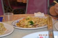 新冠洲活海鮮の海鮮炒麺140126