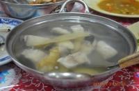 四重渓温泉新興風味餐の鮮魚湯140127