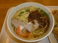 周氏蝦巻の担仔湯麺131005
