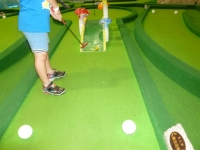 TAIMALL地下2の迷你高爾夫球場131110