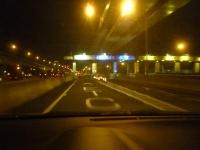 中山高速泰山収費站ETCレーン140104