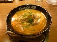 花月嵐の黄金の味噌ラーメン140110