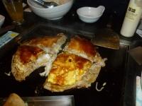 TEN屋の豚海鮮広島焼き140111