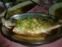 高雄尾牙の蒸し魚140117