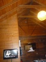 小墾丁度假村のロッジは天井高い140128
