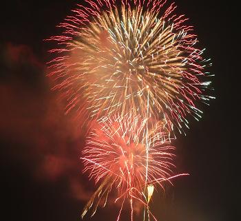 茅ヶ崎花火大会も目の前で上がります!!居住者なら屋上で観覧出来ますよ!!