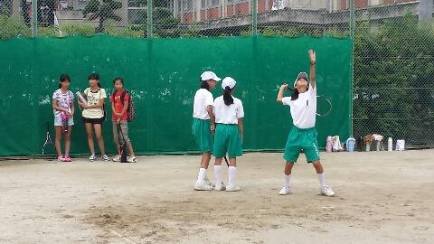 女子テニス部:部活動見学 - 高...