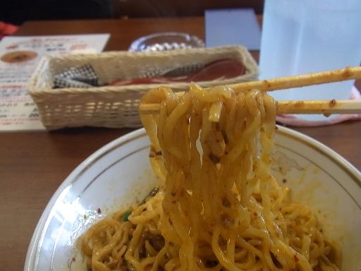 ちぢれた太麺