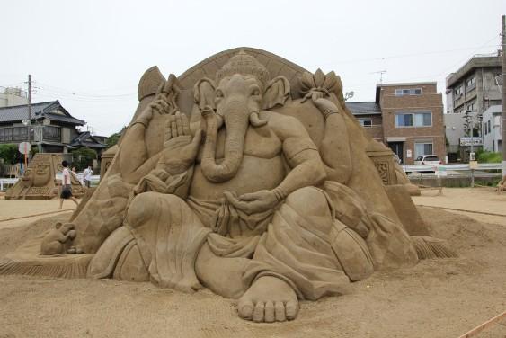 保坂俊彦作「Ganesh」