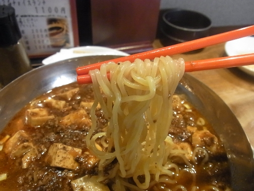 コシのある中細麺