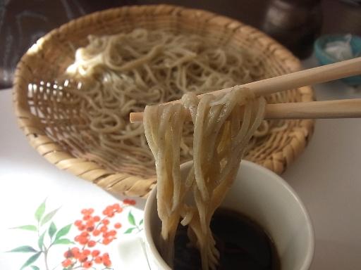 細めの蕎麦