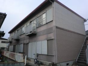 外壁塗装前1