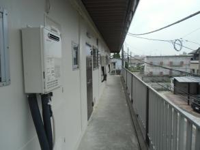 外壁塗後4