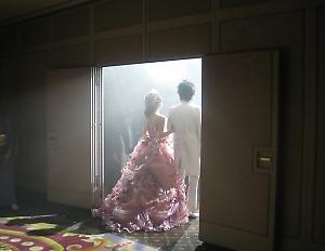 従姉妹の結婚式