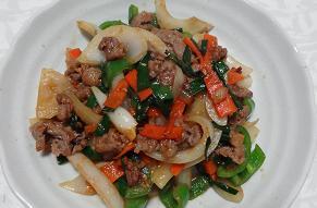 余り物野菜炒め
