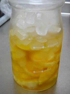 オレンジの果実酢73