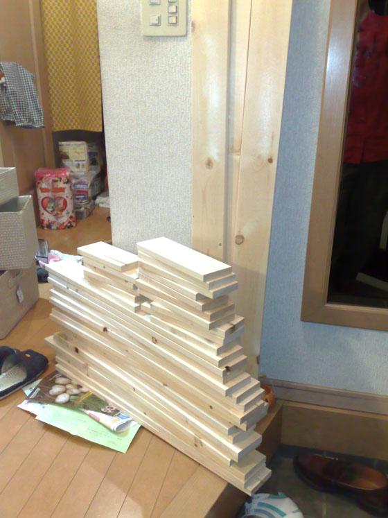 プレカット材木