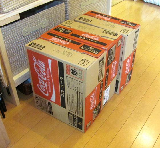 コーラ箱買い