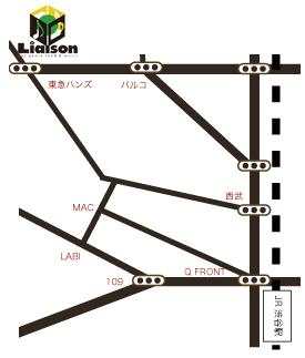 リエゾンmap