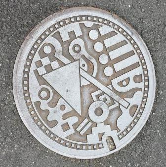 福岡市マンホール