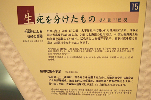 雪中行軍資料館2014-11