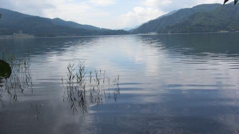 青木湖ひとり旅