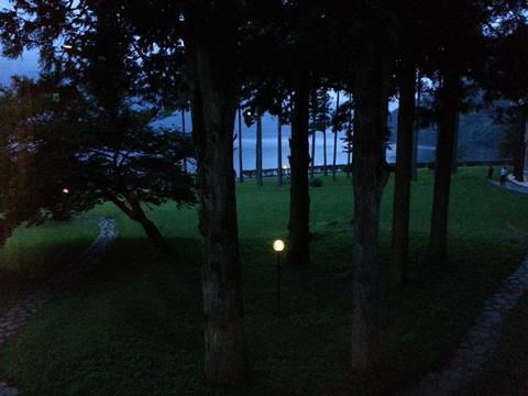 夜の芦ノ湖 (3)