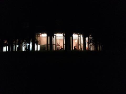 夜の芦ノ湖 (2)