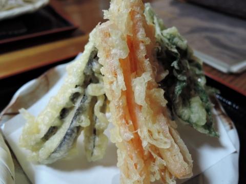 山居② 野菜天ぷら