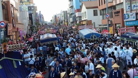 幌獅子パレード前の写真