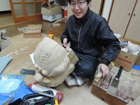 彫刻研究会①