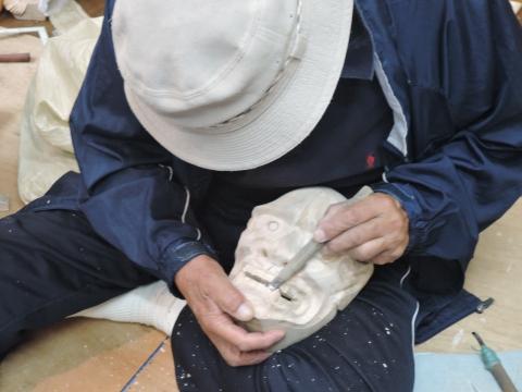 彫刻研究会②