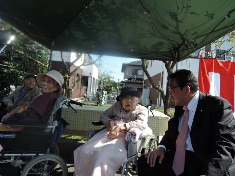あんず祭 おばあちゃんと