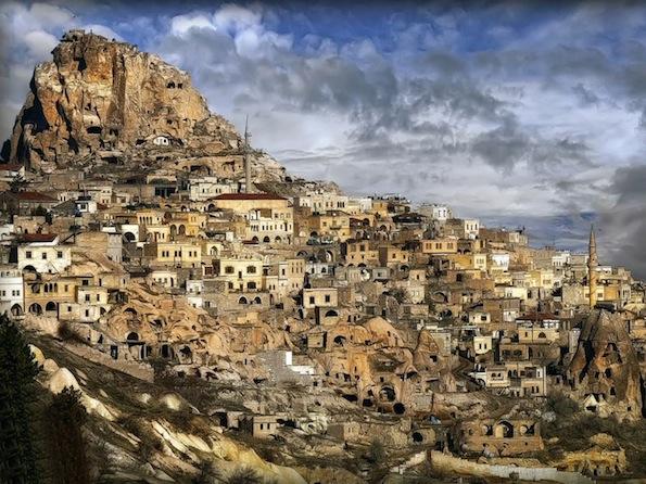 とある街の情景(カッパドキア)image