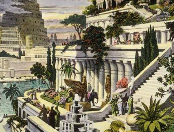 とある古代の都市の情景image