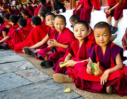 とある少年僧たち(ブータン)image