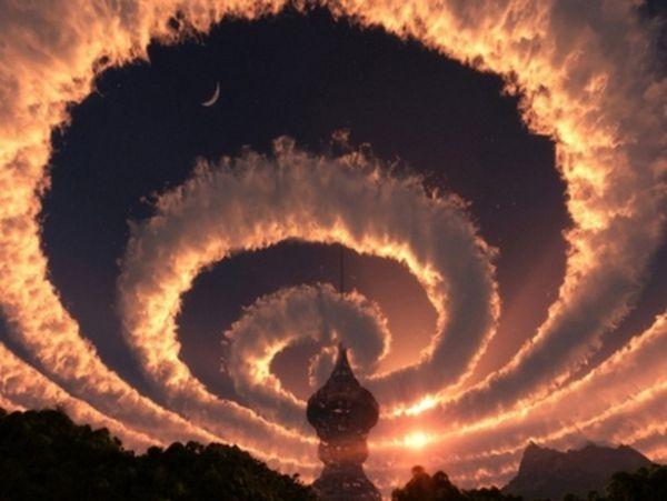 とあるヒマラヤで撮影された雲image