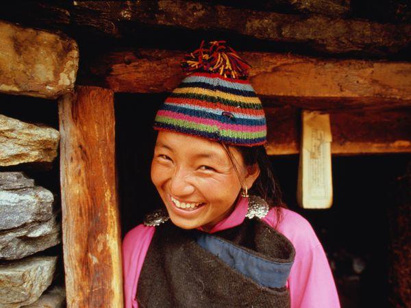 とある笑顔(ブータン)image