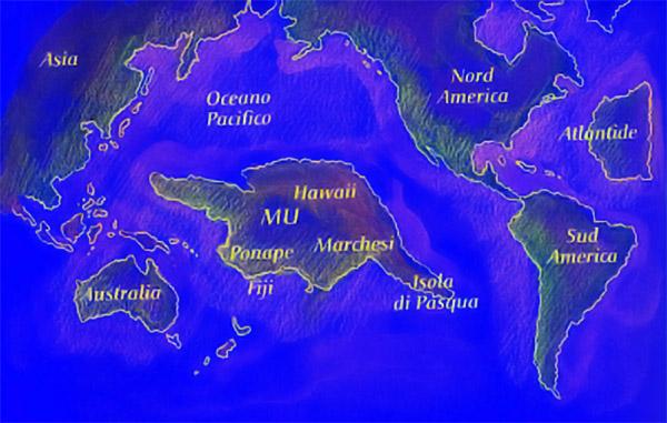 とある大陸地図(ムー)image