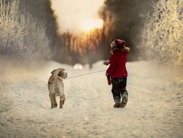 とある冬の日のお散歩なimage