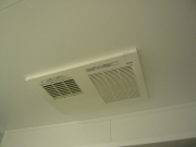 浴室 施工後 暖房